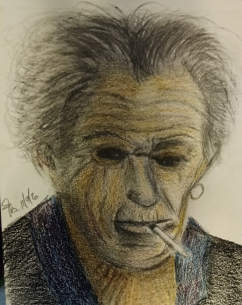 Keith Richards by frank19